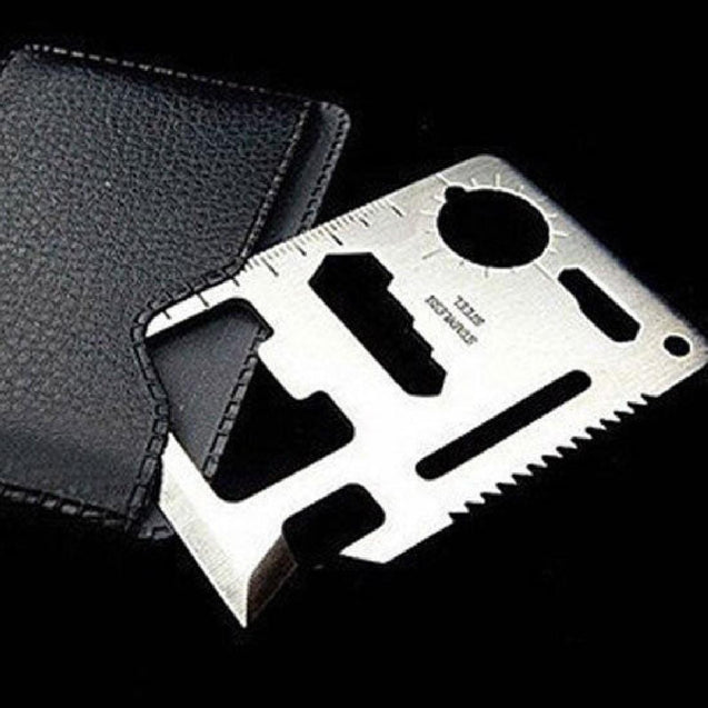 Multi-function tool card