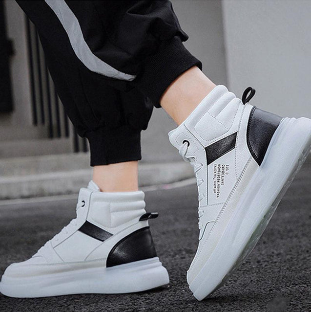 Fashion high-top street dance shoes sneakers