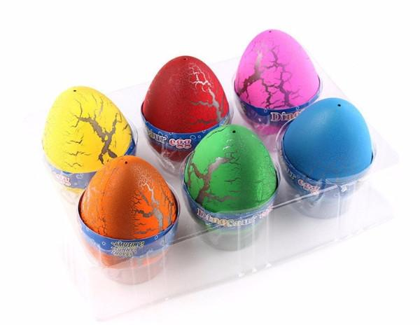Water Hatching Dinosaur B.I.G Egg Toys - 6pcs