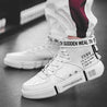 Men's White High-Top Sneakers