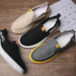 Men's Summer Breathable Canvas Casual Shoes