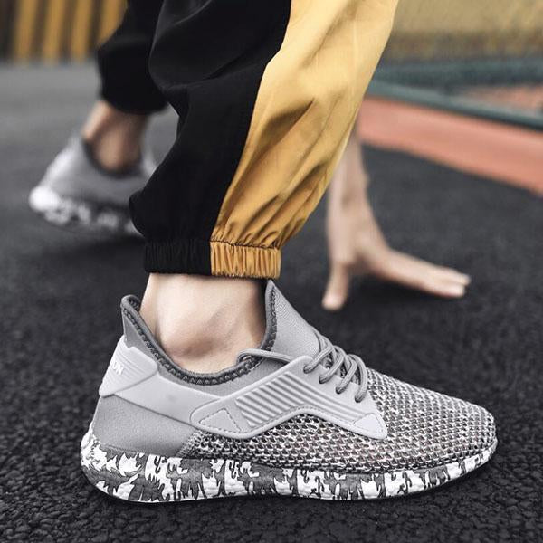 Men's Fashion Casual Breathable Mesh Sneakers Running Shoes