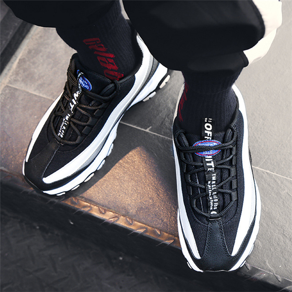 Men's Wild Color Stitching   Comfortable Sneakers