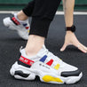 Men's Fashion Casual Color Matching Mesh Breathable Sneakers
