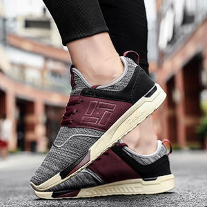 Men Shoes Uutdoor Breathable Casual Shoes Colouring Sneakers