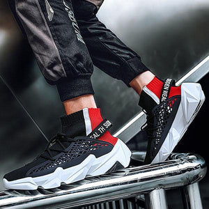 Fashion Breathable High-Top Sneakers