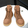 Men's fashion solid color lace-up boots