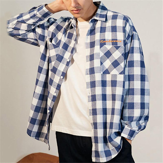 Mens Casual Trend Shirt