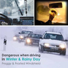 【💯 brand new and high quality】3-in-1 Car Windshield Defroster & Defogger
