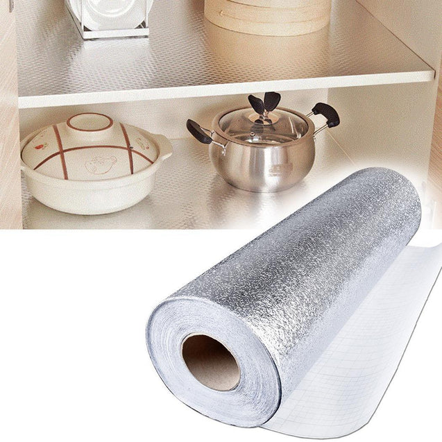 Aluminum Foil Kitchen Wall Sticker