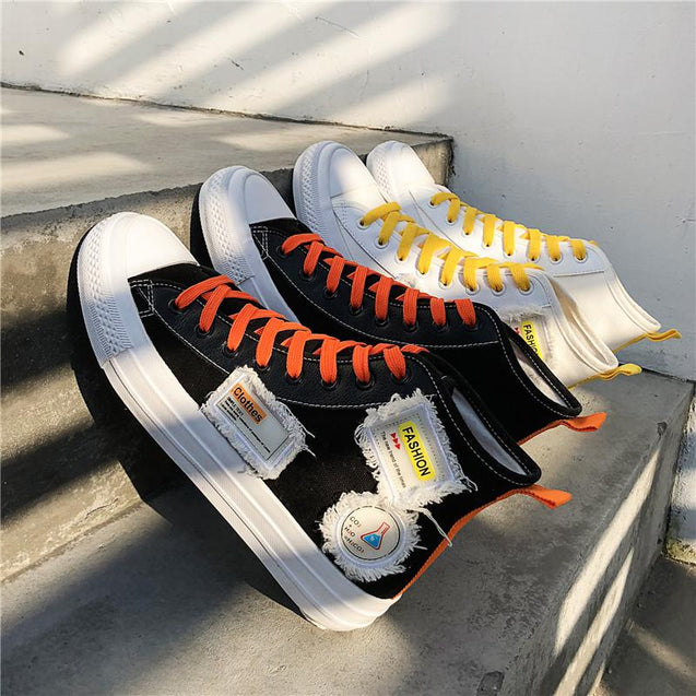 Breathable Korean version of wild tide shoes casual men's shoes