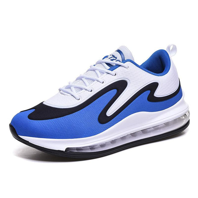 Men's casual color matching breathable shock absorbing shoes