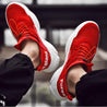 Men Fashion Shock Absorption Anti-skid Letters Sneakers