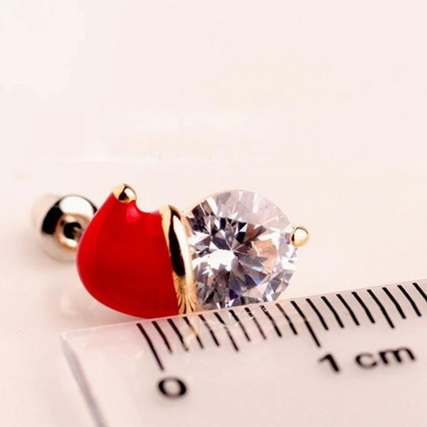 Fashion Christmas Zircon Earrings Best Gifts-Buy More Save More