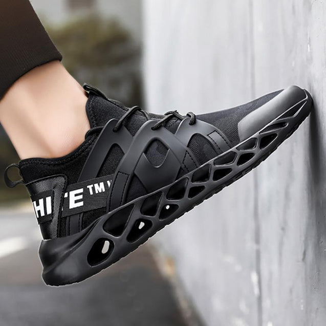 Men's casual trend letter printing sneakers