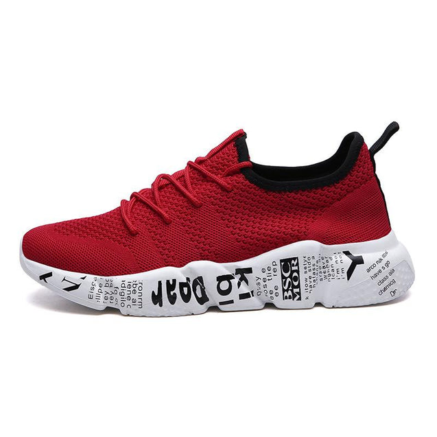 Men's Mesh Thick-soled Casual Sports Running Shoes