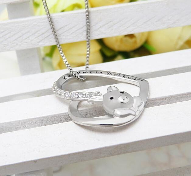 Cute little pig pendant