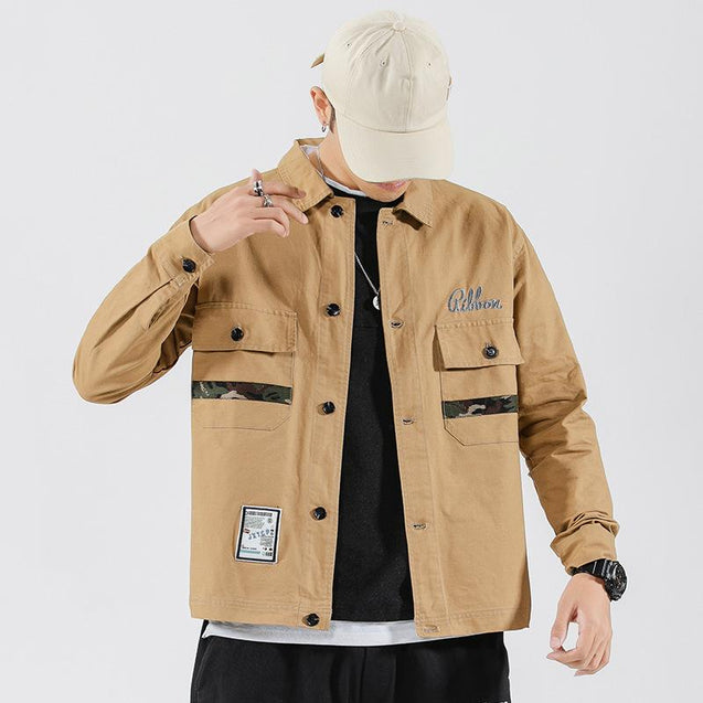 Tooling casual mens jacket