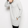 Casual Long sleeve Hoodie With Side Zipper