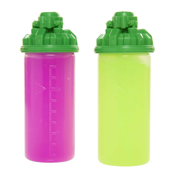World of Nintendo Splatoon Splattershot Refill 2 Pack Lime Green/Pink Pretend Play