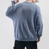 Fashion Stitching Hoodless Sweater