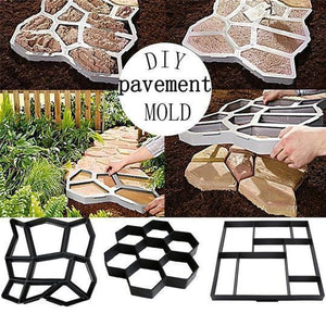 DIY Path Floor Mould