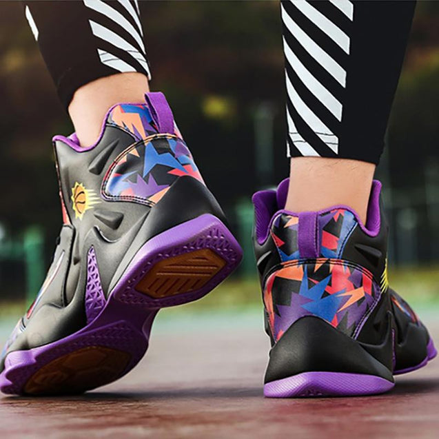 Wear-resistant non-slip high-top basketball shoes
