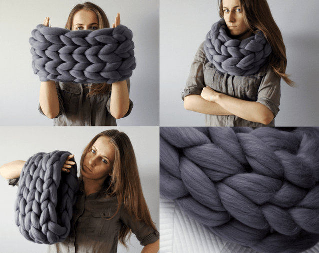 Knotted Braid Pillow