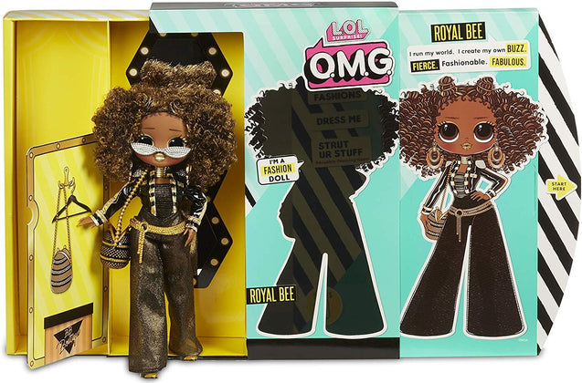 L.O.L. Surprise! O.M.G. Royal Bee Fashion Doll with 20 Surprises
