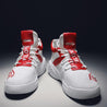 Men's fashion color matching mesh letter embroidery high-top sneakers