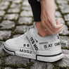 Men's casual letter printing breathable sneakers