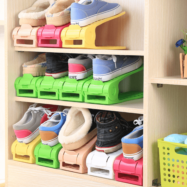 [2pcs/lot] V-Shaped Shoe Rack