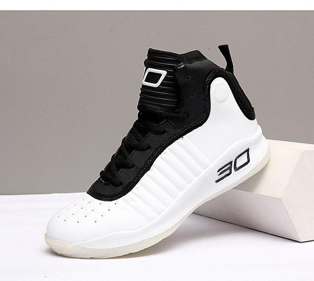 Casual antiskid letter pattern high-top lovers sneakers