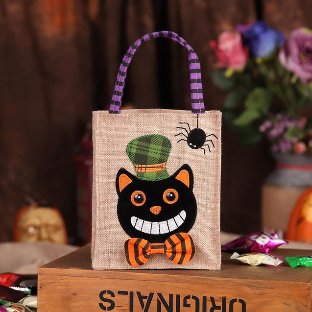 Light-Up Halloween Trick or Treat Bag