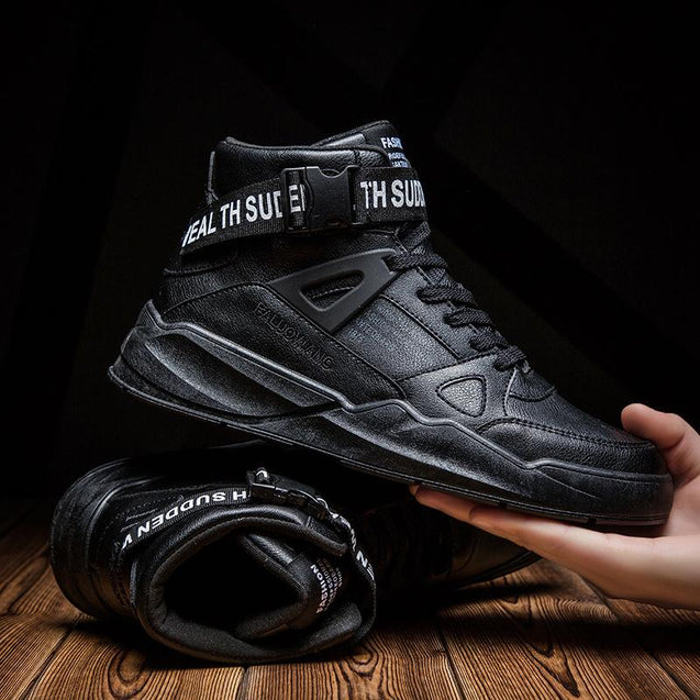 Trendy sports casual old shoes