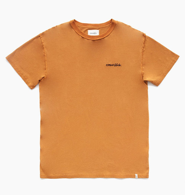 SLANG HEMP TEE - DESERT ORANGE
