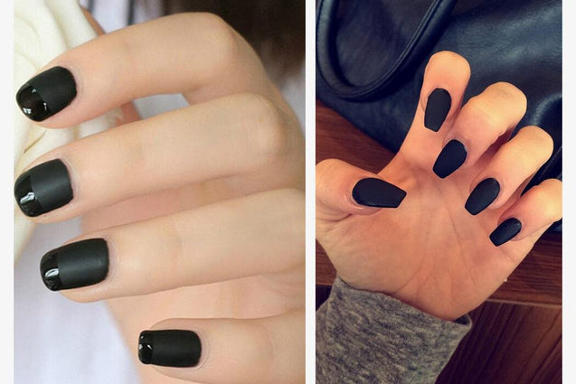 Premium Dark Black Nail Polish