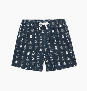 CHATTER BOARDSHORT - DARK DENIM