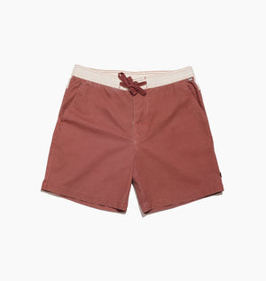 PLAIN JANE BOARDSHORT - RHUBARB