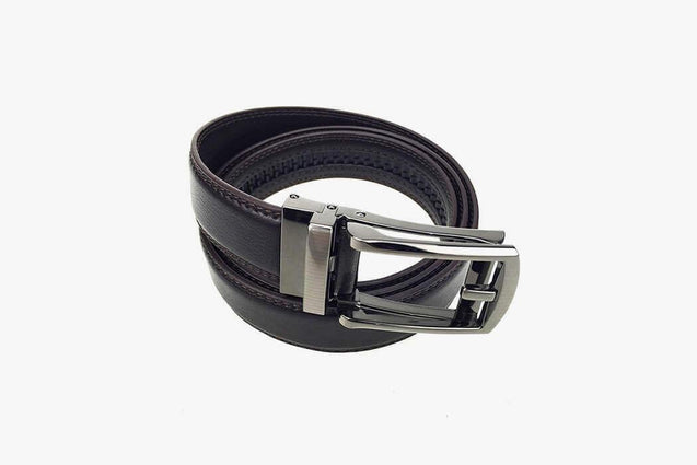 Click Comfort Hard Leather Belt