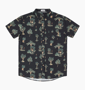COUCH SURFER SS SHIRT - PHANTOM