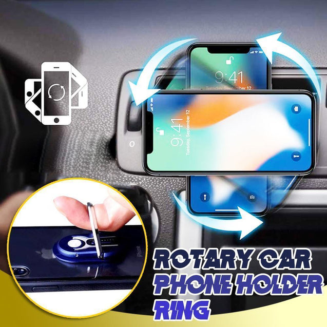 Rotary Car Ring Phone Holder