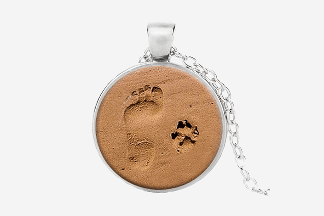 Dog Lover Print Necklace