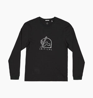 DEPARTMENT LS TEE - GREEN BLACK