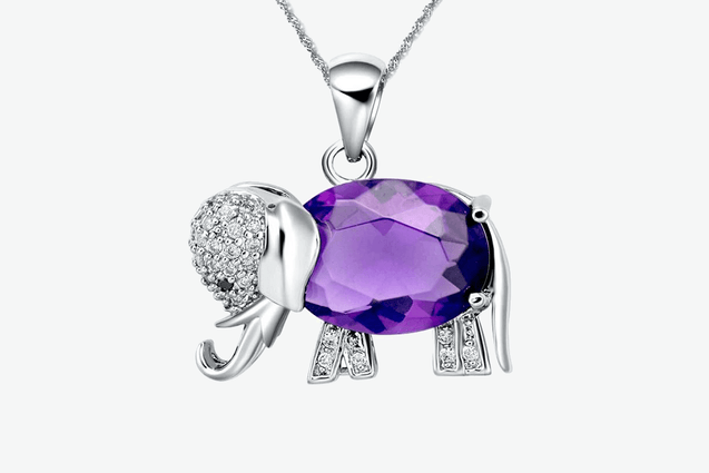 Premium Gem Elephant Necklace