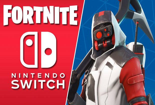 Nintendo Switch Console Fortnite Double Helix Bundle