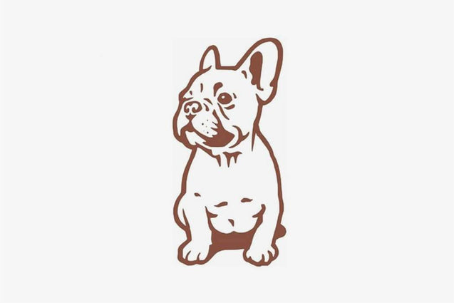 Funny Bulldog Wall Sticker