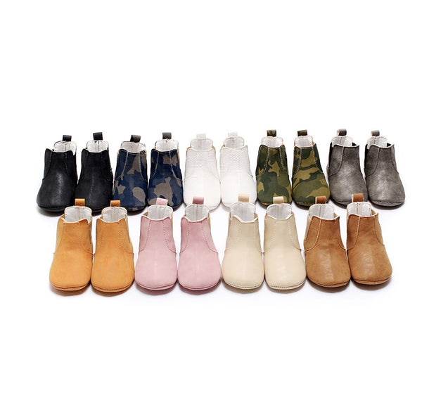 Soft Sole First Walker Slip On Moccasin Boots