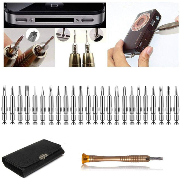 Leather Case 25 In 1 Torx Screwdriver Set