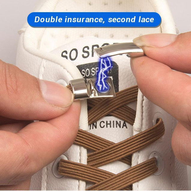 No Tie Magnetic Locking Shoelaces